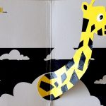 Pop-up zoo - girafe