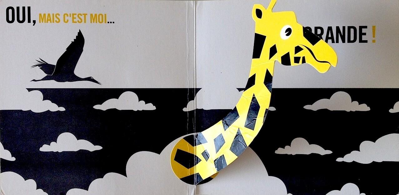Pop Up Zoos : Pop up zoo girafe un jour jeu