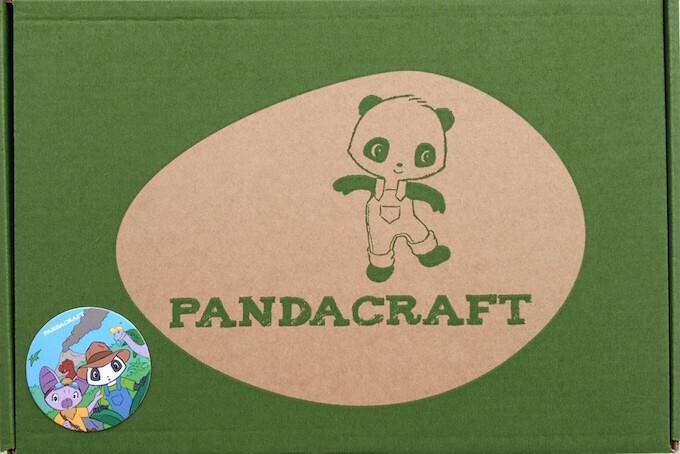 Panda craft box