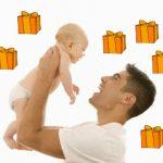 Cadeaux de naissance pour le papa