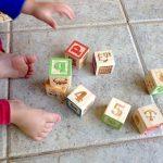 cubes en bois debut