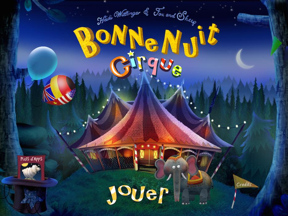 App Bonne nuit Cirque