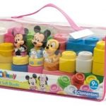 Clementoni-Mickey-et-Minnie-Valisette-Souple-32-Pices-0-0