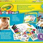 Crayola-Mini-Kids-10570-Kit-de-Loisir-Cratif-Coloriage-et-Gommettes-0