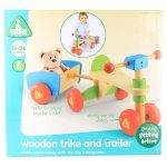 Early-Learning-Centre-135684-Jouet-Dveil-Tricycle-Et-Remorque-En-Bois-0