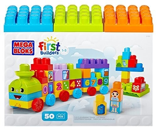 Mega bloks le train 123 un jour un jeu for Builders first