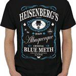 Tee-shirt-Homme-Humour-Parodie-BREAKING-BAD-Heisenbergs-Taille-M-Couleur-Noir-0