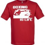 Phunky-Buddha-Boxing-Is-Life-T-Shirt-Homme-M-Rouge-0