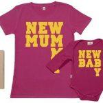 SR-New-Mummy-New-Baby-Ensemble-de-pour-Mre-et-bb-Rose-S-6-12-mois-0