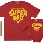 SR-SuperDad-SuperBoy-Ensemble-de-pour-Pre-et-bb-Rouge-M-0-6-mois-0