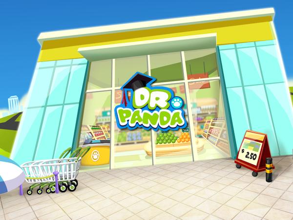Dr Panda le supermarché