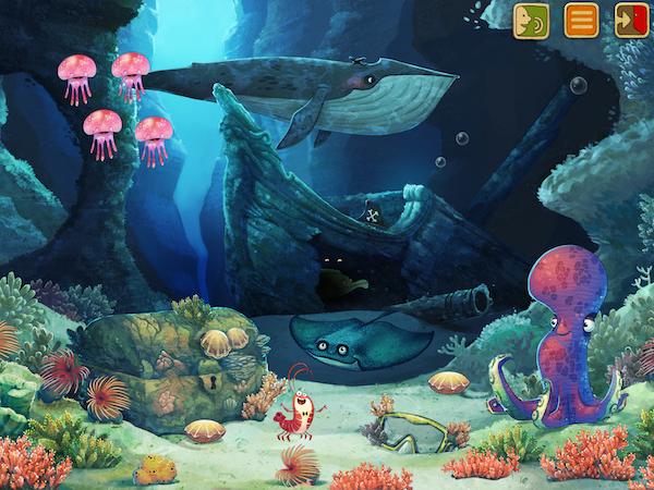 Ocean sous-marin de Fox&Sheep