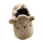 Froomer-Chaussures-Tricot-Rat-Imprim-Premier-Pas-Unisexe-Bb-S0-6-mois-Kaki-0
