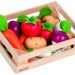 Janod-J05611-Accessoires-de-cuisine-Cagette-12-Lgumes-0