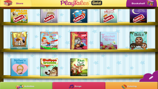 Livres Play Tales