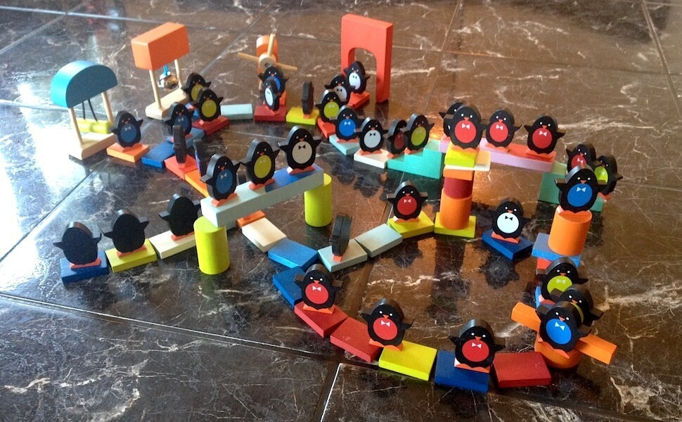 Kubix, le spectacle des pingouins