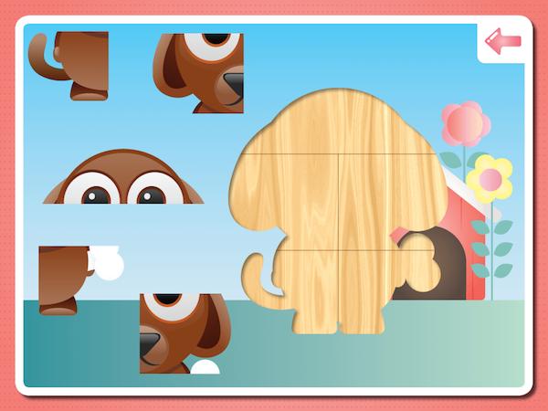 Puzzle singe pour tout-petits