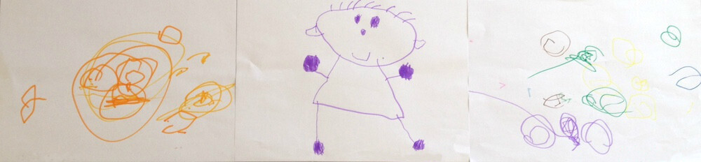 Vis ma vie de maman : dessin d'enfants