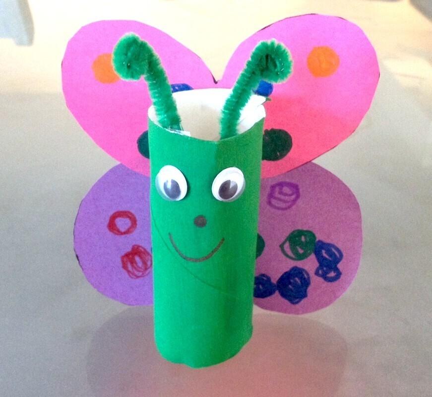 papillon diy rouleau de papier toilette - Que Faire Avec Des Rouleaux De Papier Toilette Pour Noel