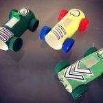 DIY voitures rouleaux papier toilette