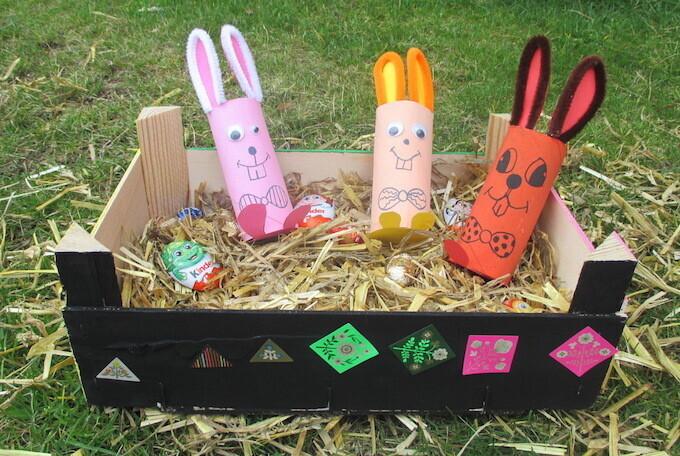 DIY de Pâques lapins