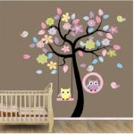Chambre-stickers-muraux-mur-de-lusine-des-autocollants-de-Blansdi-rose-bleu-arbre-de-hibou-balancer-le-commerce-des-enfants-0