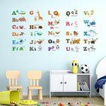 Decowall-DW-1308-Alphabet-Animals-Sticker-muralStickers-murauxtatouages-murauxtransferts-mur-0
