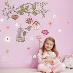 Fashion-Plaza-Sticker-Mural-oiseau-aimable-Crative-et-dcoration-Salon-Bb-Enfant-Chambre-Maison-50x70CM-0
