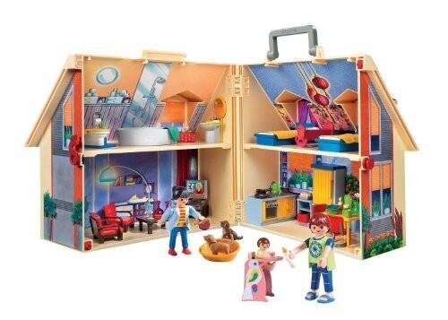 Maison transportable playmobil un jour un jeu - Jeu de construction de maison ...