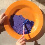 Mélange du violet