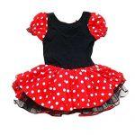 Toussaint-Enfant-Fille-Souris-de-Minnie-Costume-Partie-Tutu-1-2-ans-0