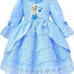 Zeeton-Princesse-Douce-Robe-de-Soire-Partie-Halloween-Carnaval-Costume-Enfant-Dress-jupe-cocktail-boule-desigual-bleu-FRZ002-2-ans-0