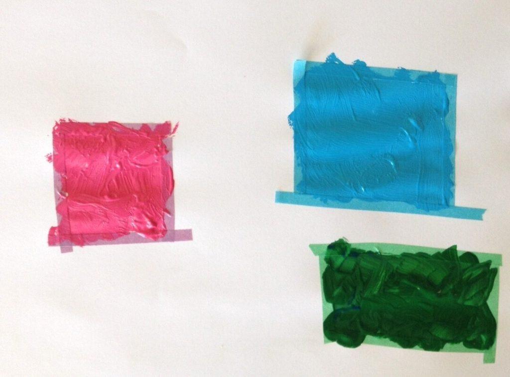 Carrés de couleurs
