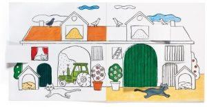 La ferme à colorier