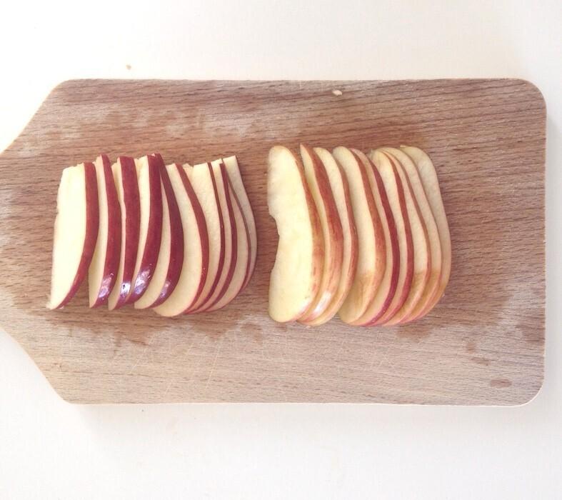 Découpage pommes