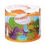 Aladine-85123-Loisir-Cratif-Stampominos-Dinosaure-0