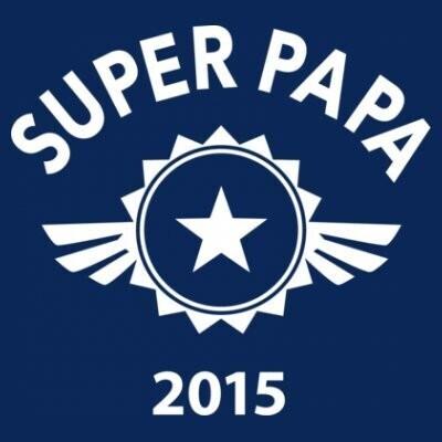 T-shirt fête des pères super papa