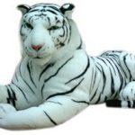 Brubaker-Peluche-gante-Tigre-110-cm-Blanc-0