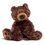 Enesco-320046-Philbin-Ours-Chocolat-Polyester-33-cm-0