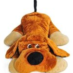 Grand-chien-en-peluche-allong-110cm-peluche-gante-0