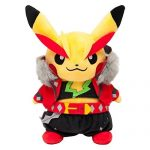 Peluche-Pikachu-Cosplayeur-Version-Rockeur-Edition-Limit-Exclusive-Pokemon-Center-Tokyo-Import-Japon-Produit-Officiel-0