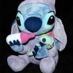 Authentique-rare-Disney-Stitch-tenue-Scrump-douce-Peluche-0