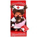 Monchhichi-23648Mcc-Peluche-Infirmire-Et-Bb-0