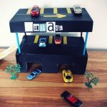 diy garage boite à chaussures