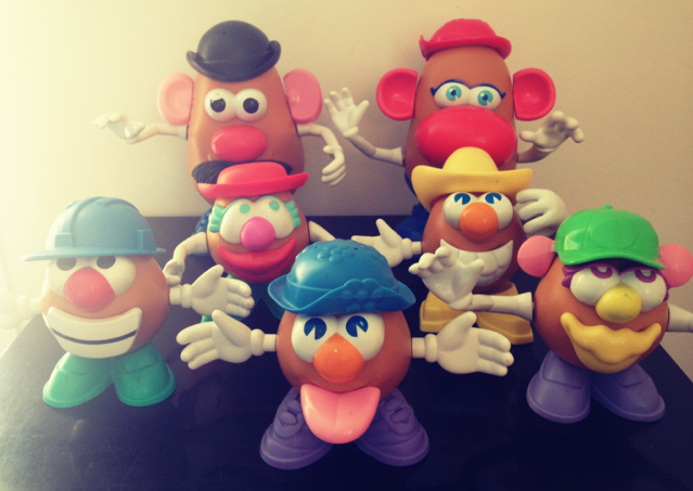 Mr Patate et family