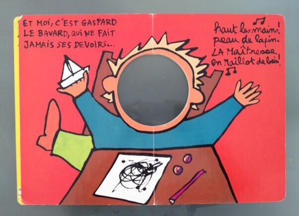A l'école, Bénédicte Guettier