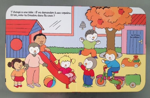 Ecole maternelle 8 livres pour aborder la rentr e un jour un jeu - T choupi va a l ecole ...