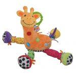 Happy-Cherry-Hochet-en-Peluche-Musique-Jouet-dveil-de-poussette-pour-bb-Girafe-0