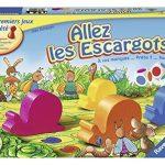 Ravensburger-21955-Jeu-de-socit-Jeux-de-plateaux-Allez-les-escargots-0