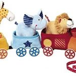 Sigikid-41083-Fille-et-Garon-train--tirer-animaux-de-la-savane-multicolore-0